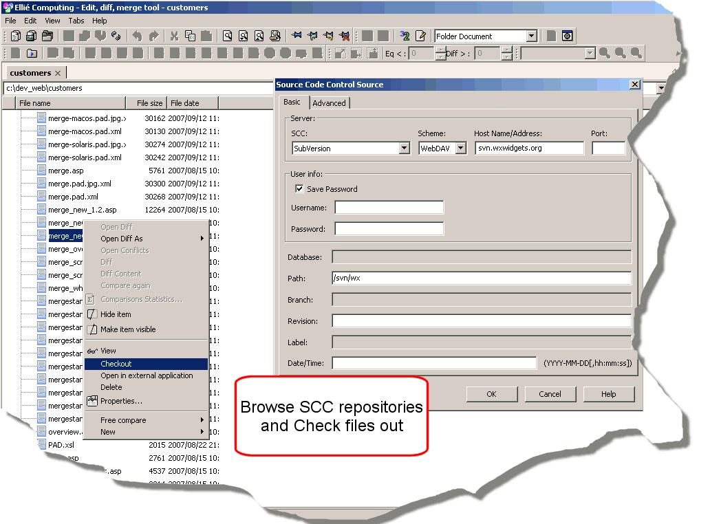 SCC features